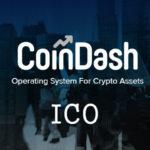 ICO Coindash 17.07.2017